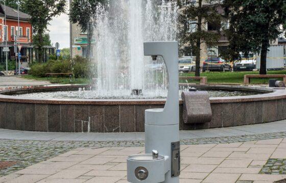 Geriamojo vandens fontanėliai pradės veikti nuo gegužės