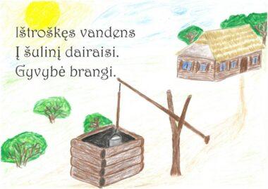 Domantas Šarka, I gimnazijos kl.