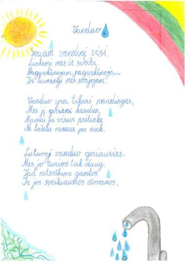 Emilija Gliaubičiūtė, 2 kl.