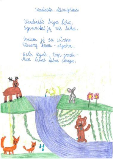 Miglė Širvinskaitė, 2 kl.